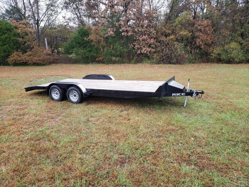 "2016 Rice 83"" x 20' Tandem Axle Car hauler"