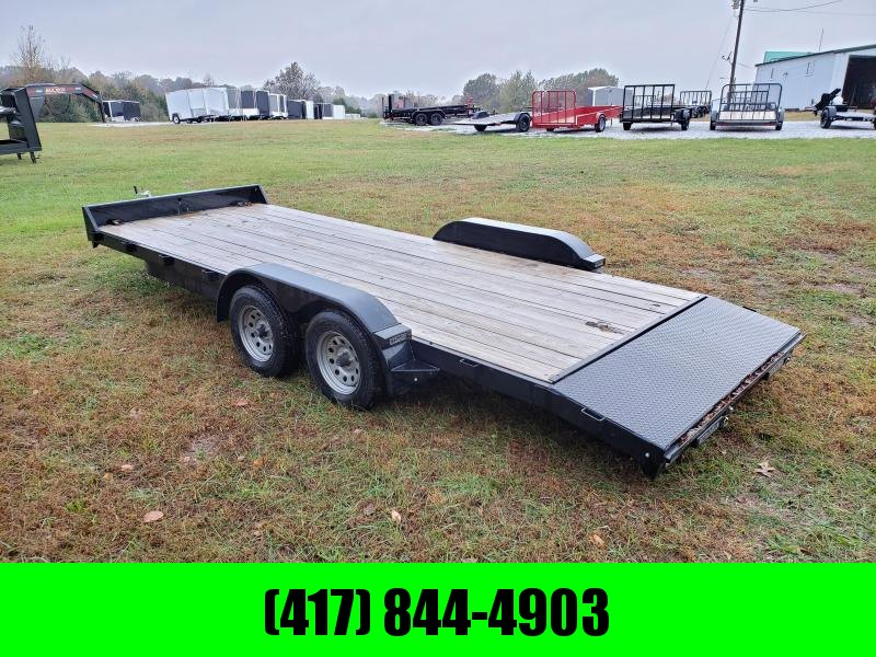 "2016 Rice 83"" x 20' Tandem Axle Car hauler"