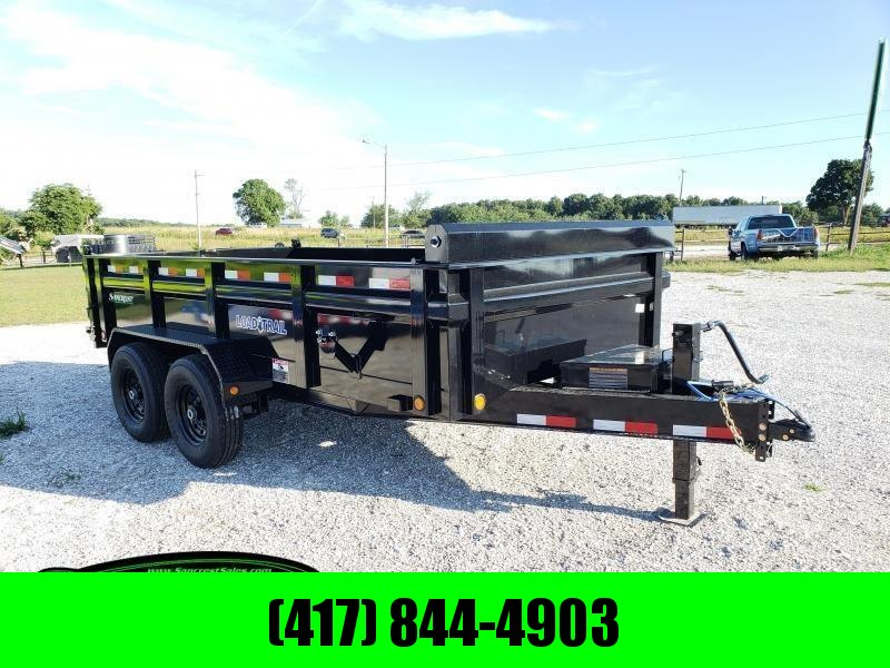 "2020 Load Trail 83"" x 14' Low-Pro Dump Trailer"