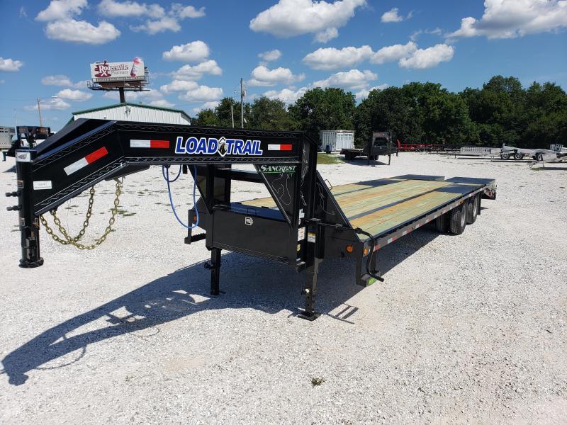 "2020 Load Trail 102"" x 30' Tandem Low-Pro Gooseneck W/ MAX RAMPS"