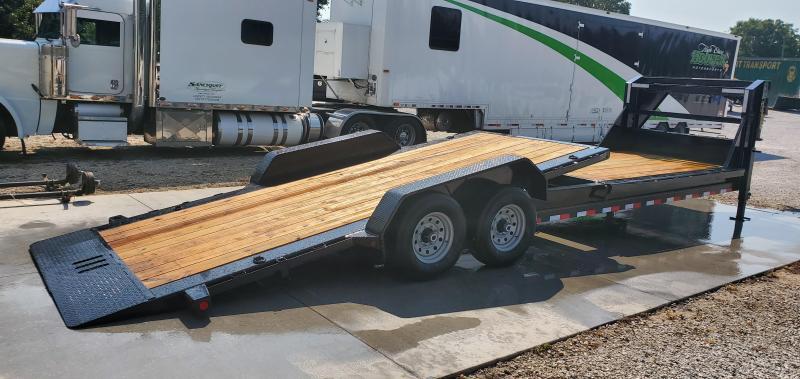 2020 Load Trail 83X26(16+10) TANDEM 14K GOOSENECK  GRAVITY TILT-N-GO EQUIPMENT/CAR HAULER