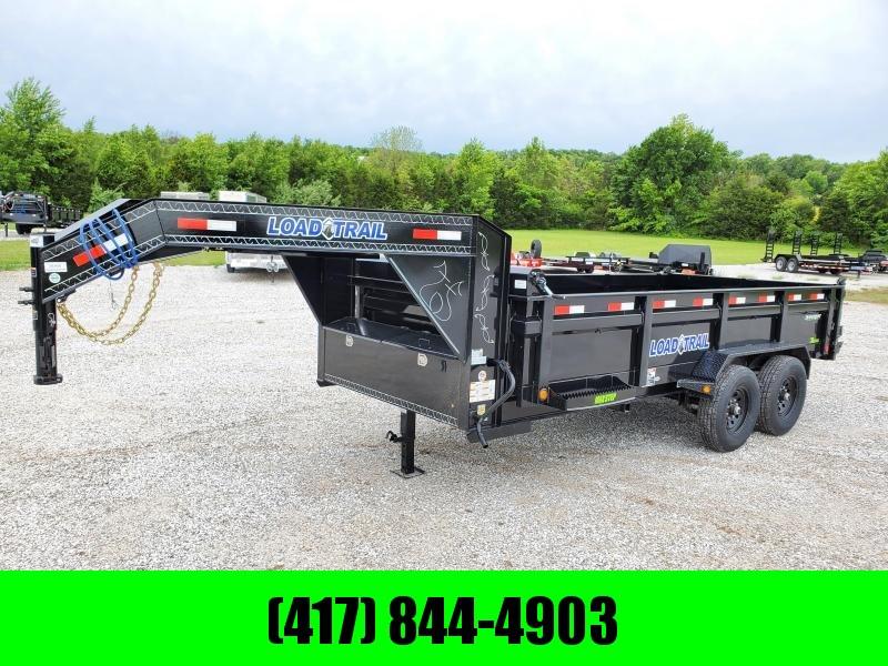 "2020 Load Trail 83"" x 16' Tandem Axle Gooseneck Dump 7GA FLOOR"