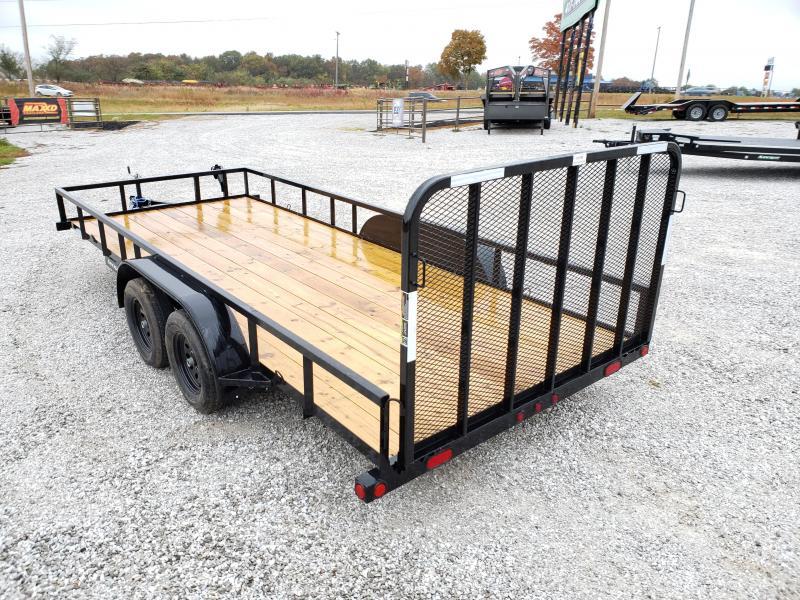 2019 Load Trail 83X18 TANDEM 7K UTILITY W/4' TUBE GATE