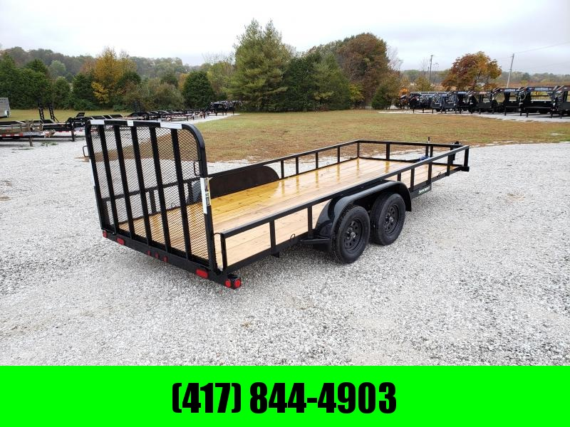 2019 Load Trail 83X18 TANDEM 7K UTILITY W/4' TUBE GATE