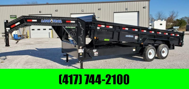 "2020 Load Trail 83X20 GOOSENECK HG DUMP W/ 10K TORSION AXLES & 12"" I-BEAM FRAME"