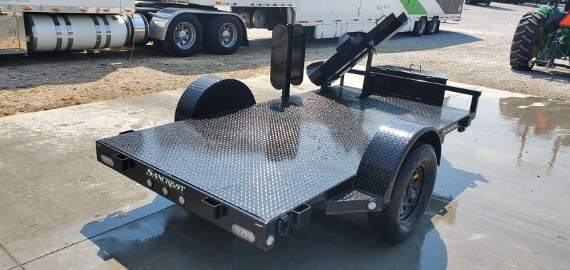 2020 MAXXD 61x10 WET BLACK WELDING TRAILER W/STEEL FLOOR
