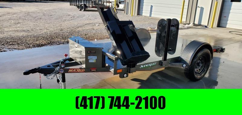 2020 MAXXD 61x10 METALLIC GRAY WELDING TRAILER W/STEEL FLOOR