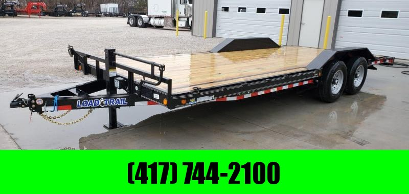2020 Load Trail 102x22 TANDEM 14K CAR/EQUIPMENT HAULER W/SLIDE IN RAMPS