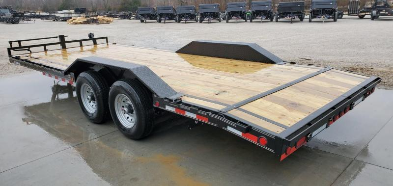 2020 Load Trail 102x22 TANDEM 14K CAR/EQUIPMENT HAULER W/SLIDE IN RAMPS