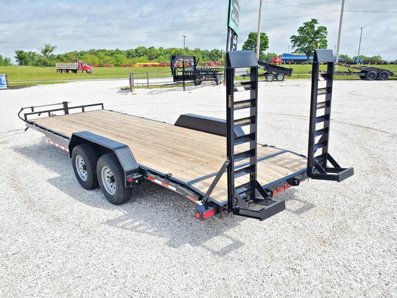 """2020 Load Trail 83"""" x 22' Tandem Axle Carhauler W/ 7KS"""
