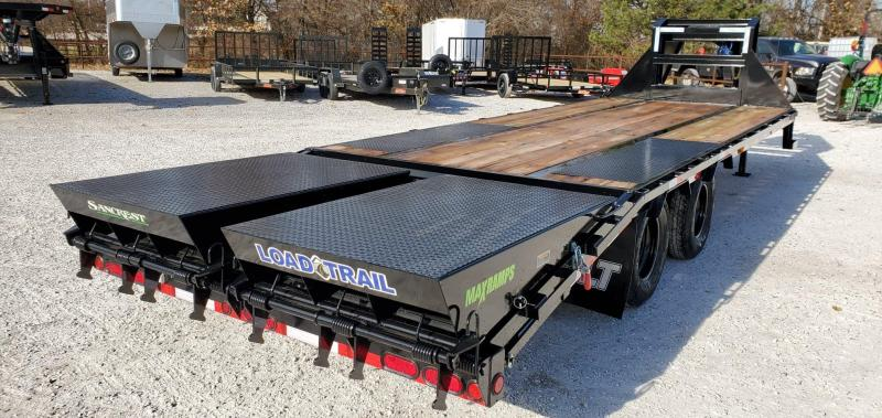 2020 Load Trail 102X25(20+5) TANDEM LO-PRO GOOSENECK W/ 10K AXLES & MAX RAMPS
