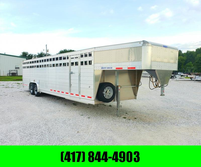 2019 EBY LIVESTOCK TRAILER 32' X 8' X 6'6 HIGH RUFF NECK