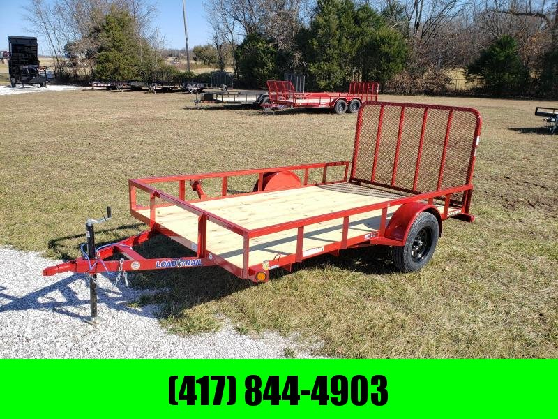 2020 Load Trail 77X12 SINGLE 3.5K TUBE TOP UTILITY W/4' TUBE GATE