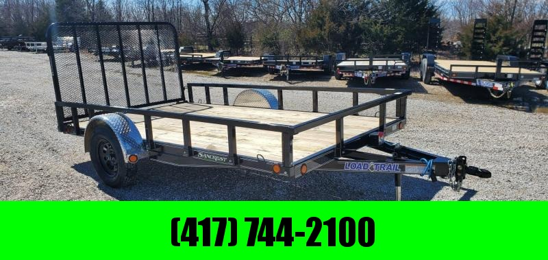 "2020 Load Trail 83X12 SINGLE 3.5K UTILITY W/4"" FRAME REMOVABLE RAILING/FENDERS"