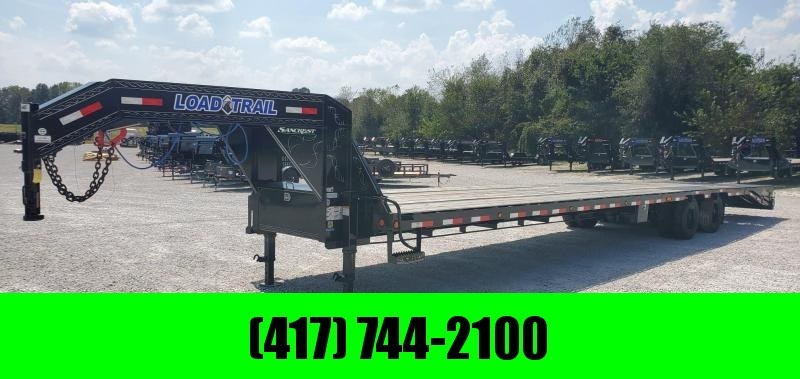 **HOT SHOT SPECIAL**2019 Load Trail 102X40(35+5) TANDEM LO-PRO GOOSENECK W/12K HYD. DISC BRAKES MAX RAMPS ADJ. RATCHET RAIL