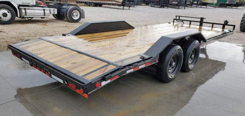 2020 Load Trail 102X22 TANDEM 14K CAR HAULER W/SLIDE OUT RAMPS