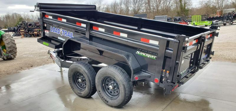 """2020 Load Trail 72X12 TANDEM 10K DUMP W/24"""" SIDES & SPARE TIRE"""