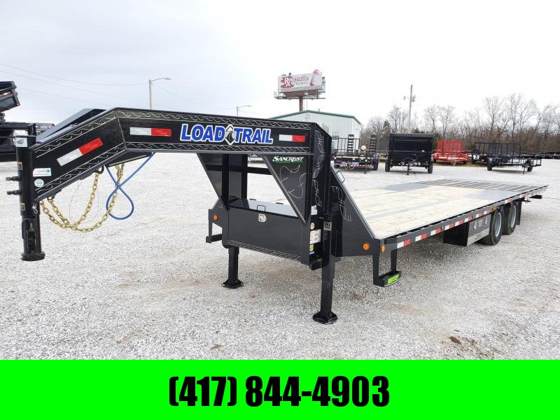 "2020 Load Trail 102"" x 32' Tandem Low-Pro Gooseneck w/Hyd. Dove"