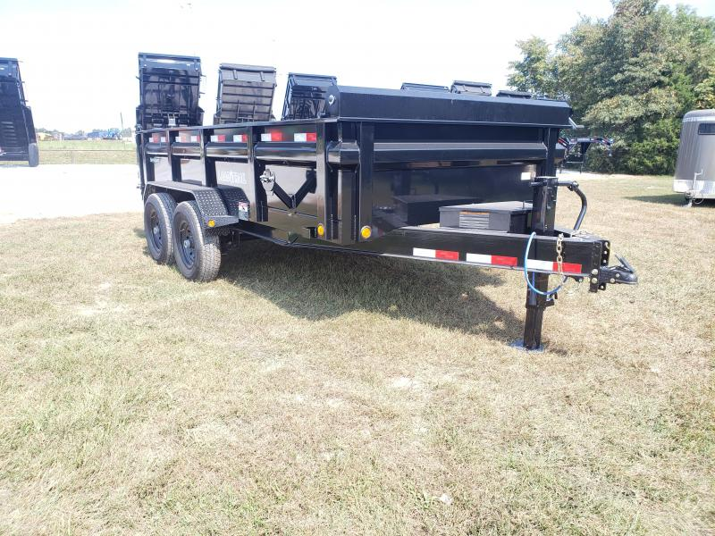 2020 LOAD TRAIL 83X14 TANDEM 14K  DUMP W/MAX STEP