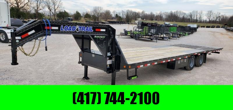 2020 Load Trail 102X32 TANDEM LO-PRO GOOSENECK W/10FT HYDROTAIL HYDROJACKS 10K AXLES & TORQUE TUBE