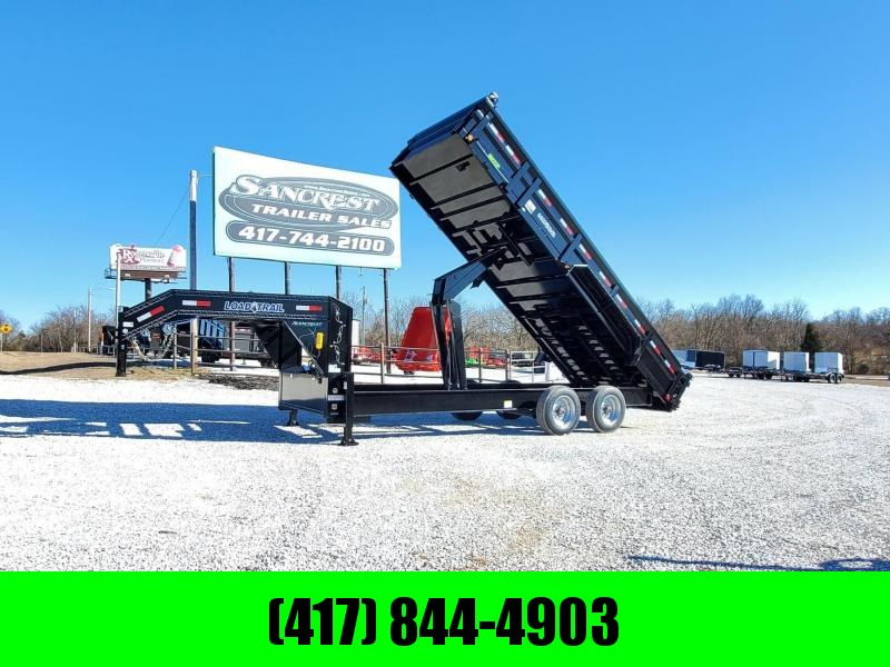 2020 Load Trail 83X20 TANDEM 20K HG GOOSENECK DUMP W/ HYDRO JACKS & 10K TORSION AXLES