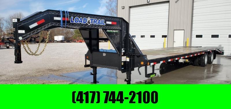 2020 Load Trail 102X32 LO-PRO GOOSENECK W/12K AXLES(ELEC. BRAKES) & MAX RAMPS