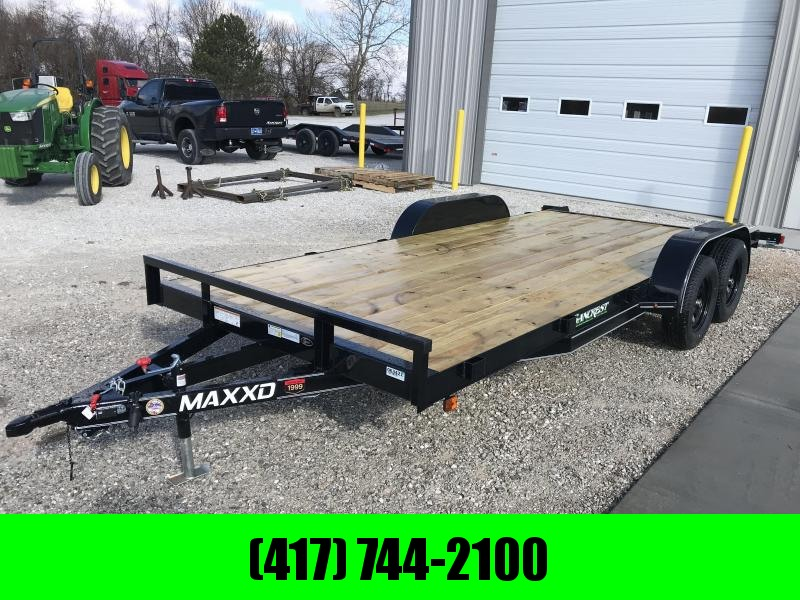 2019 MAXXD WHITE SERIES TANDEM CAR HAULER W/3500 AXLES