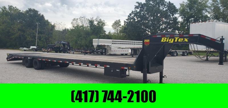 2018 Big Tex 102X40(35+5) TANDEM LO-PRO GOOSENECK W/12K AXLES 2-SPEED JACKS & MEGA RAMPS