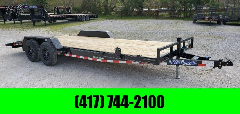 2020 Load Trail 83x20 TANDEM 10K CAR HAULER W/SLIDE-IN RAMPS