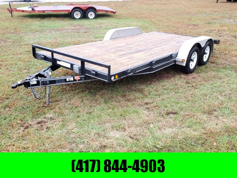 2008 P J TRAILER 83 X 18 CAR HAULER