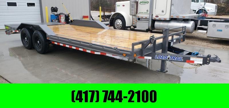 2020 Load Trail 102X22 TANDEM 14K CAR/EQUIPMENT HAULER W/MAX RAMPS