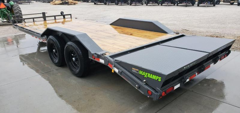 2020 Load Trail 102X22 TANDEM 14K CAR/EQUIPMENT HAULER W/MAX RAMPS