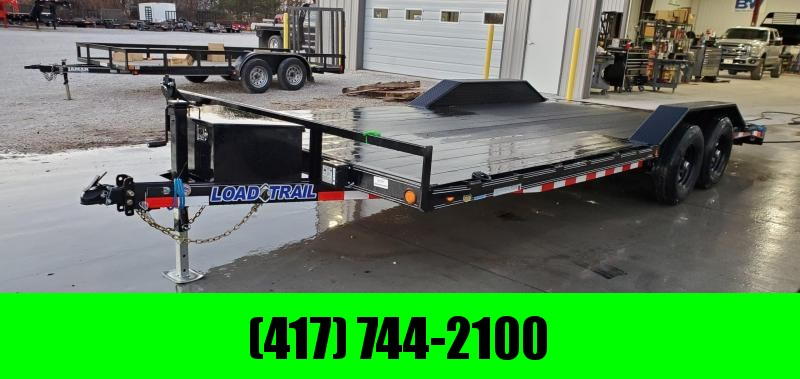 2020 Load Trail 102x20 TANDEM 10K CAR HAULER W/ BLACKWOOD PRO FLOOR DRIVEOVER FENDERS & TOOLBOX