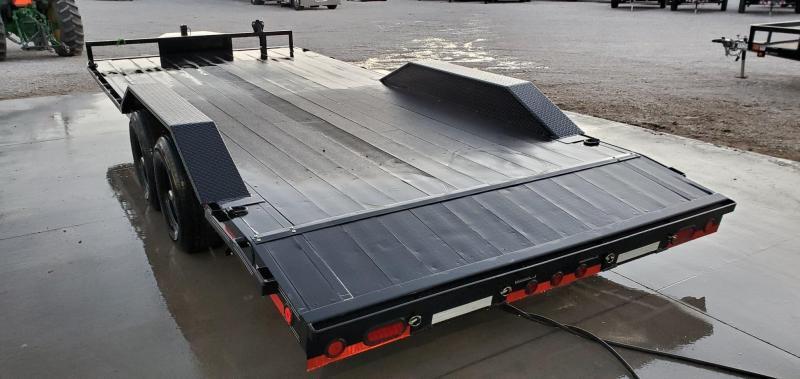 2020 Load Trail 102x20 TANDEM 10K CAR HAULER W/ BLACKWOOD PRO FLOOR DRIVEOVER FENDERS & TOOLBOX