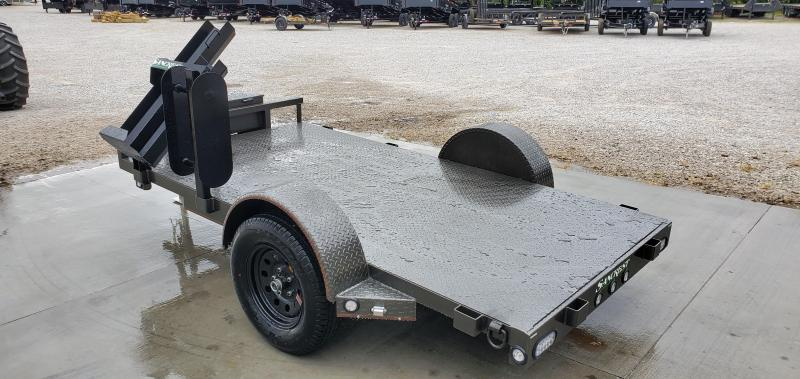 2020 MAXXD 61X10 GRAY METALLIC WELDING TRAILER W/STEEL FLOOR