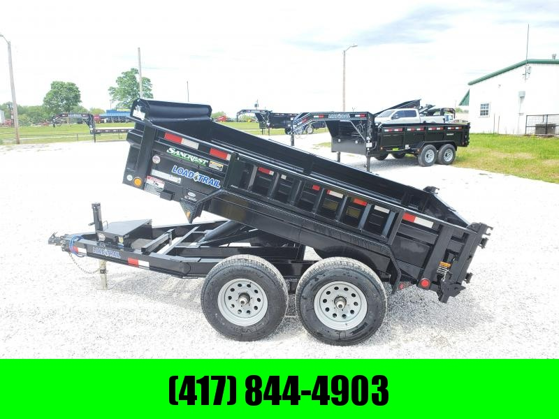 "2020 Load Trail 72"" x 10' Tandem Axle Dump 2 - 5200 Lb Dexter Spring Axles"