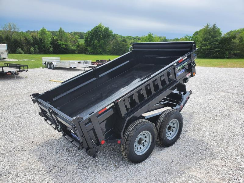 "2020 Load Trail 72"" x 10' Tandem Axle Dump 2 - 5200 Lb Dexter Spring Axles"