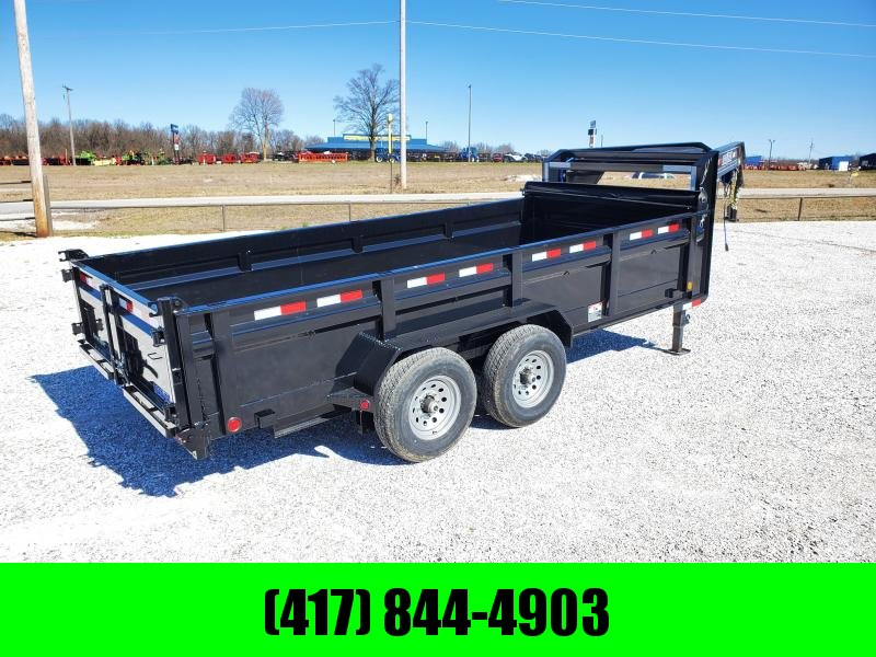 "2020 Load Trail 83"" x 16' Tandem Axle Gooseneck Dump  LO-PRO"