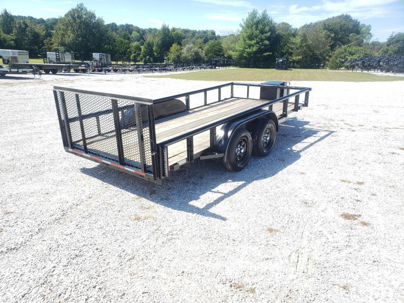 2008 C&M 77 X 16 UTILITY TRAILER (USED)