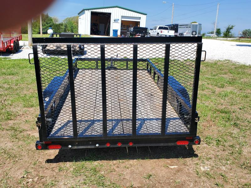2018 Big Tex 77 X 14 UTILITY TRAILER TANDEM AXLE