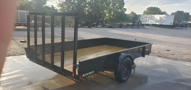 "2020 H&H 82X12 SOLID SIDE SINGLE 3.5K UTILITY W/50"" SPRING ASSIST GATE"