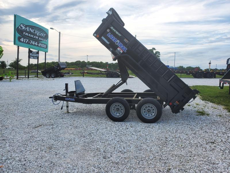 """2020 Load Trail 60X10 TANDEM 7K DUMP W/24"""" SIDES"""