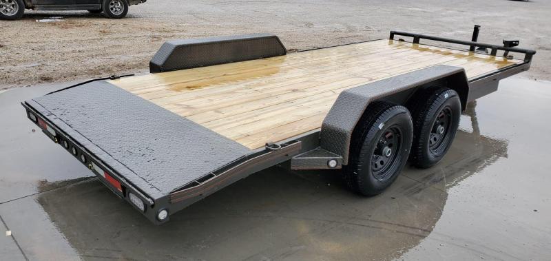 2020 MAXXD 83X18 TANDEM 10K C5X CAR HAULER W/2' STEEL DOVETAIL & 2 BRAKE AXLES