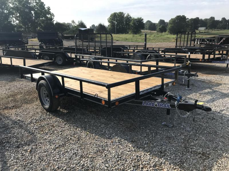 2019 Load Trail 77X12 TILT DECK Utility Trailer W/PIPE TOP RAILING