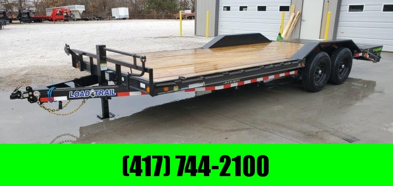 2020 Load Trail 102X22 TANDEM 14K CAR/EQUIPMENT HAULER W/MAX RAMPS & DRIVEOVER FENDERS