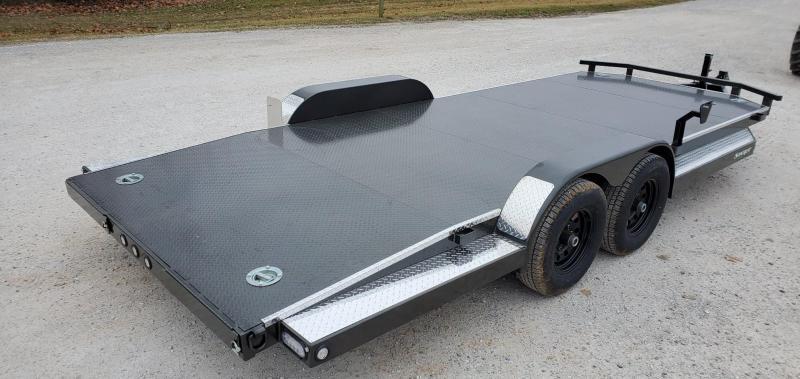 2020 MAXXD 83X20  TANDEM 10K METALLIC GRAY N5X CAR HAULER