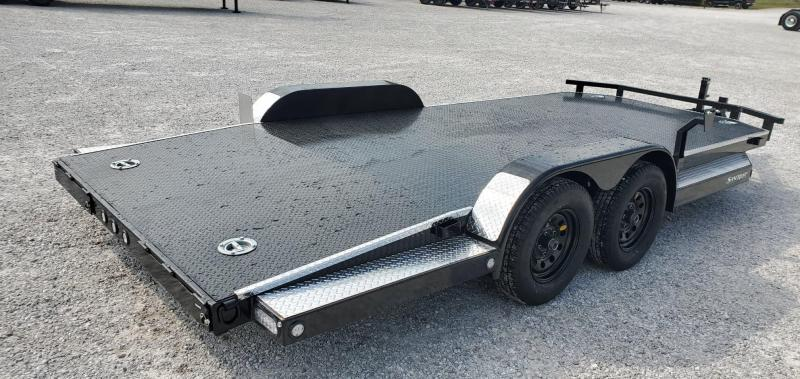 2020 MAXXD 83X18 TANDEM 7K WET BLACK N5X CAR HAULER