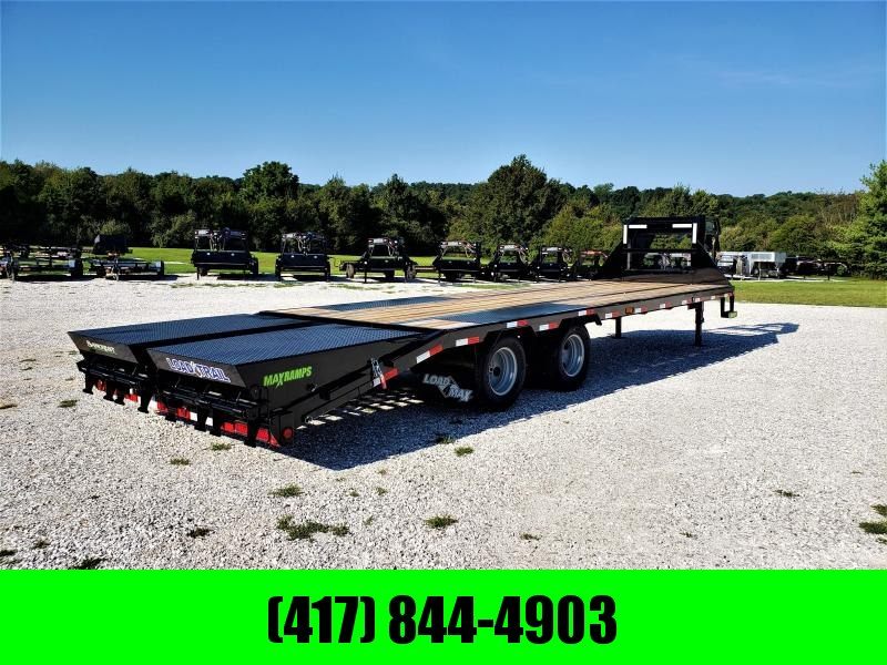 2019 LOAD TRAIL 102X28(23+5) TANDEM LO-PRO GOOSENECK W/10K AXLES & MAX RAMPS