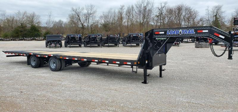 "2020 Load Trail 102X34 TANDEM LO-PRO GOOSENECK W/10K AXLES(HDSS 72"" SPREAD) 10' HYDROTAIL(SELF CLEAN) TORQUE TUBE & UNDER BRIDGE"