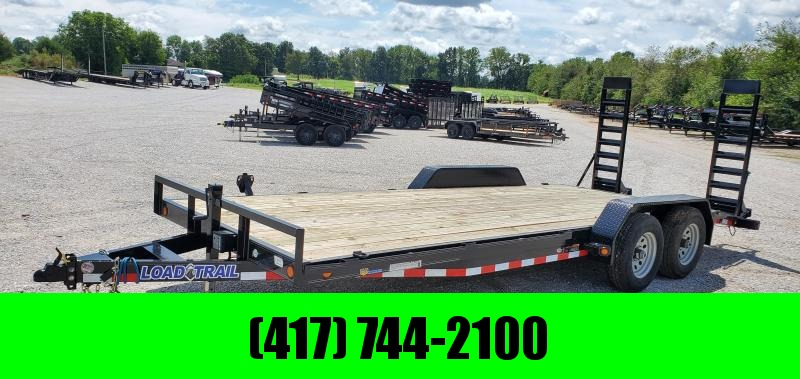 2019 Load Trail 83x20(18+2) TANDEM 10K CAR/EQUIPMENT HAULER W/STAND UP RAMPS